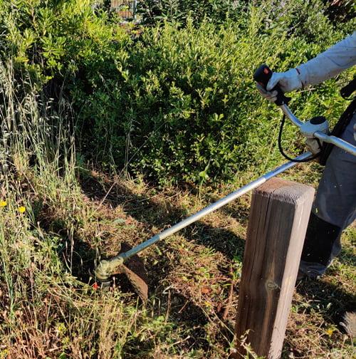 SOLEV dans le Vaucluse, entretien de jardin particulier, débroussaillement en PACA