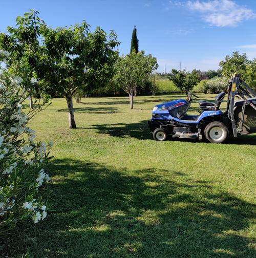 SOLEV, entretien de jardin, particulier, tonte