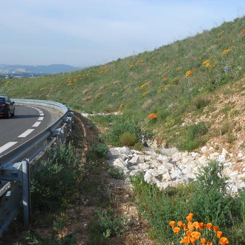 L'hydroseeding par SOLEV en Vaucluse
