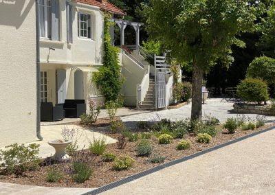 Aménagement paysager hôtel - Vaucluse